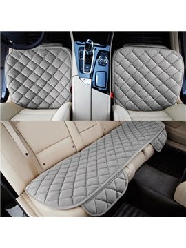 Popular Practical Gray Special Design 3-Pairs Car Seat Mat