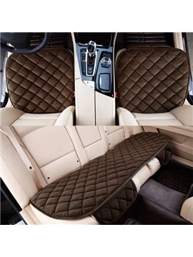 High Grade Square Grad Design 3-Pairs Car Seat Mat