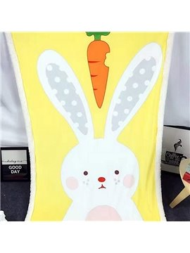 Cute Cartton Rabbit Comfortable Baby Blanket