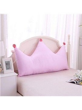 Creative Crown Shape Decoration Bedding Throw Pillow