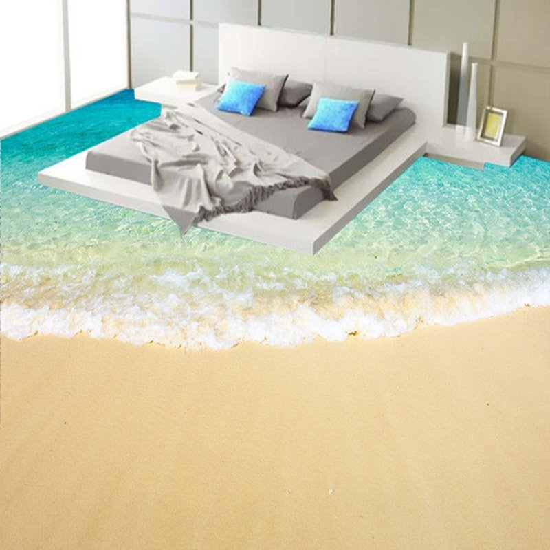 Fancy modern design beach scenery pattern home decorative for How to buy carpeting