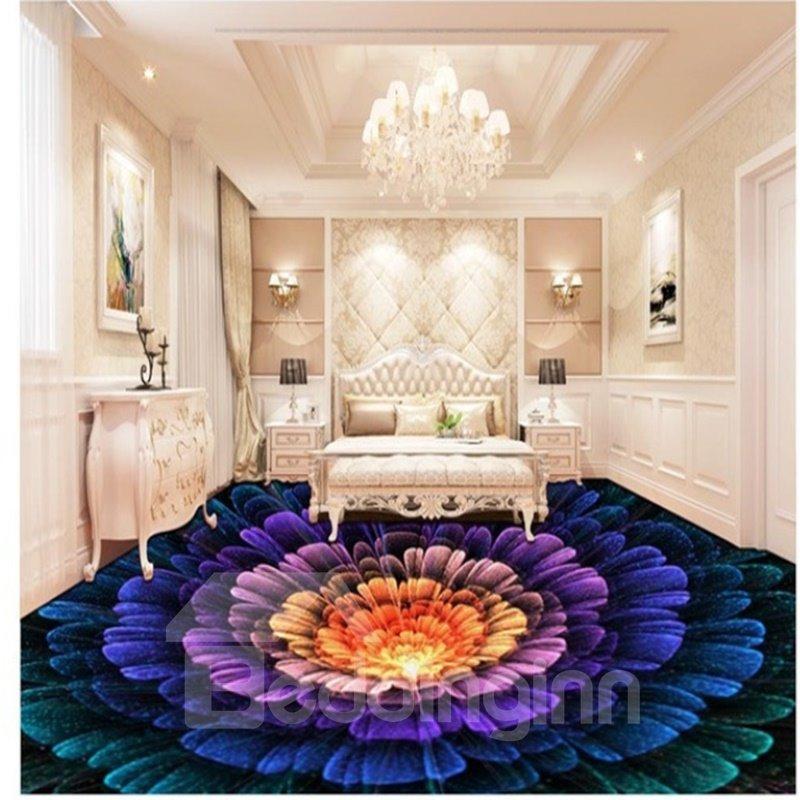 Splendid Three Dimensional Colorful Flower Pattern