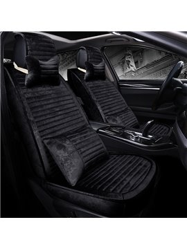 Good Permeability With Soft Velvet Comfortable Fashion Universal Car Seat Cover
