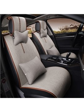 Simple Design Fashion Solid Color Popular Universal Car Seat Cover