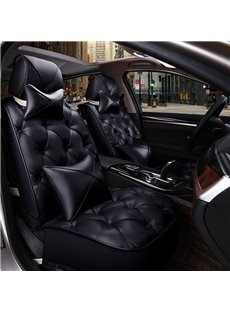 Super Fashion Diamond Pattern Design PVC Leather Material Universal Car Seat Cover