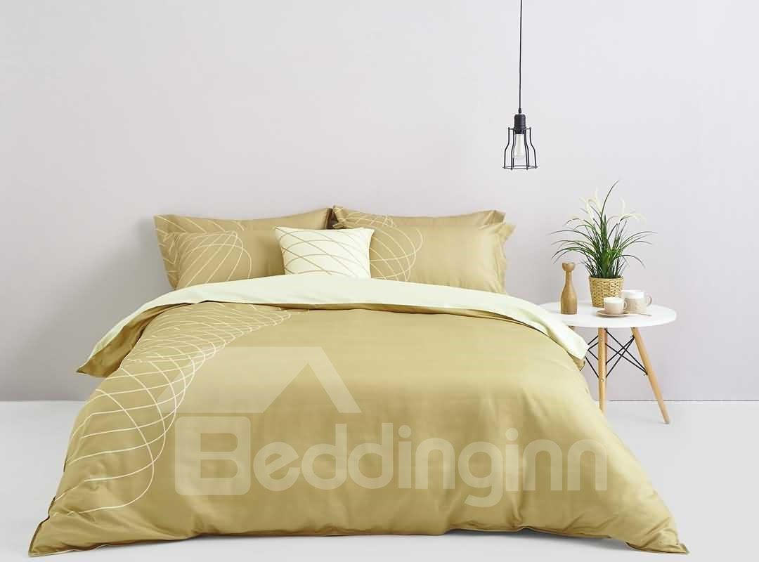 Stylish Design Digital Printing 4-Piece Cotton Duvet Cover Sets 12674676