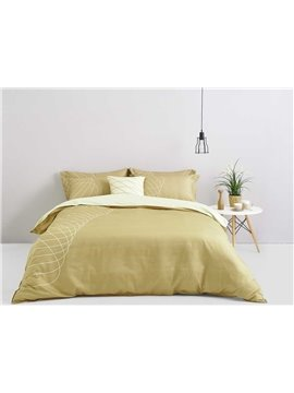 Stylish Design Digital Printing 4-Piece Cotton Duvet Cover Sets