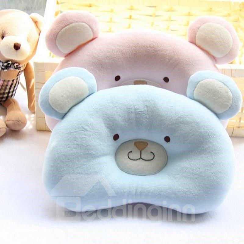Cute Bear Shape Design Prevent Flat Head Newborn Baby