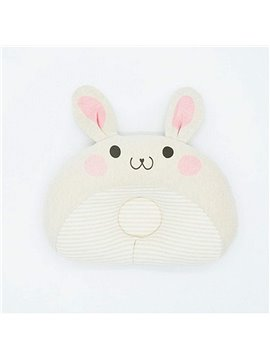 Cartoon Rabbit Design Prevent Flat Head Baby Pillow