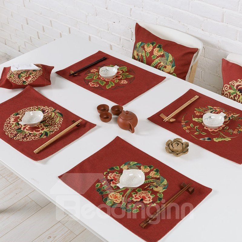 how to make heat resistant placemats