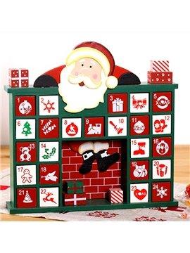Decorative Santa Claus Design Christmas Advent Calendar