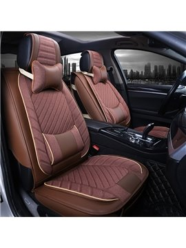 High-Grade Three-Dimensional Thick Net Silk Universal Car Seat Cover