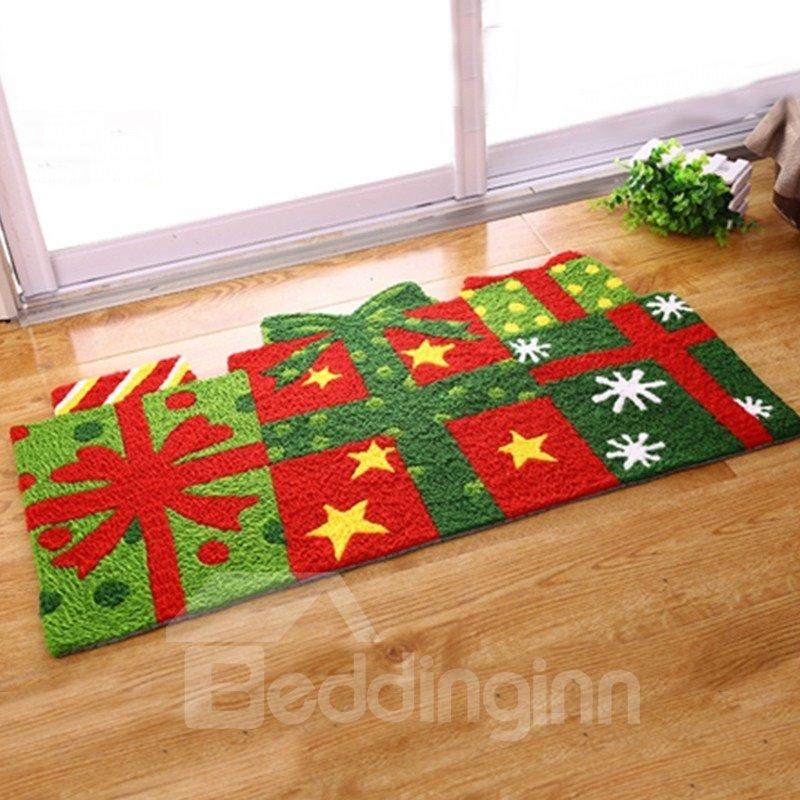Designer Christmas Gifts Pattern Christmas Theme Anti-Slip