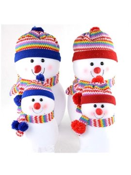 Christmas Style Cute Snowman Design Doll