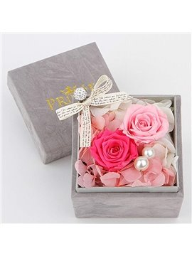 Charming Forever Rose Design Valentine or Birthday Gift