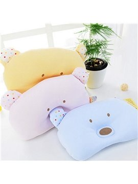 Cute Bear Design Prevent Flat Head Baby Pillow