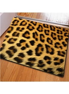 Fashion Design Rectangle Animal Print Home Decorative Non Slip Doormat
