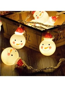 Stunning Unique Design Snowman Shape Christmas Decoration 13.1 Feet Length LED Lights