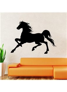 Fancy Creative Running Horse Pattern Decorative Wall Sticker