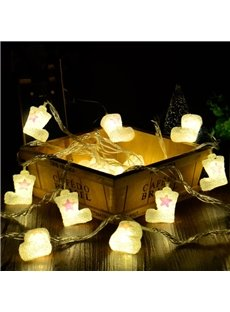 Amazing Cute Christmas Shoes Design 13.1 Feet Home Decorative LED Lights