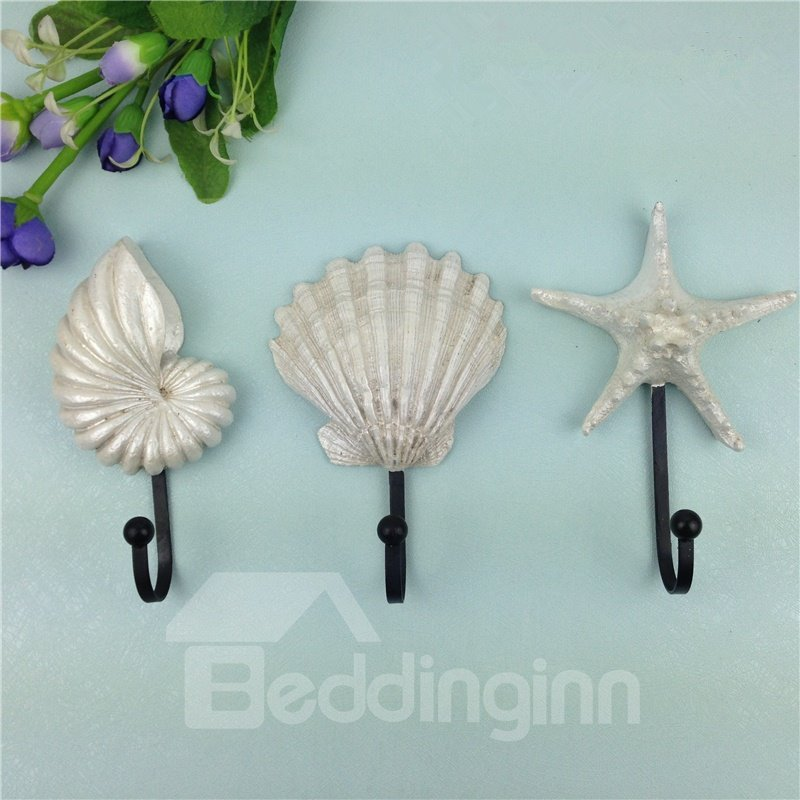 Amazing Simple Style Starfish And Seashell Shape