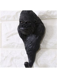 Amusing Resin Orangutan Design Home Decorative Wall Hooks