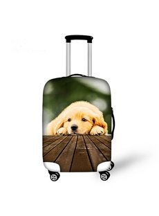 Lovely Dog Pattern 3D Painted Luggage Cover