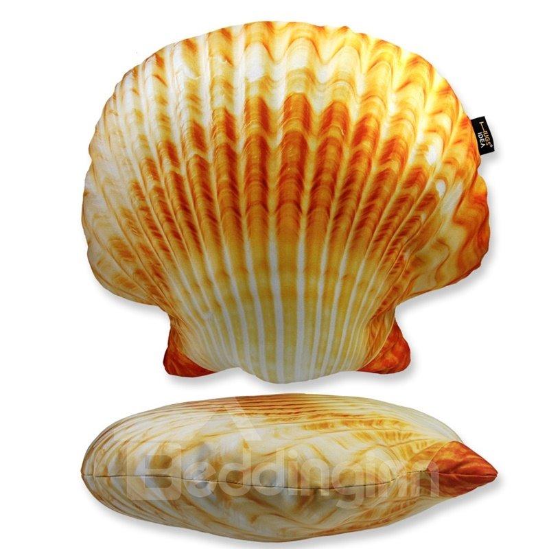 Super Soft Sea Shell Shaped Throw Pillow Beddinginn Com
