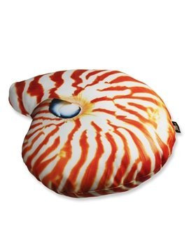 3D Marine Conch Shaped Decorative Throw Pillow