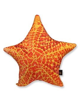 Soft and Luxurious Starfish Shaped Throw Pillow
