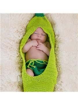 Super Cute Bean Baby Knit Baby Cloth Photo Prop