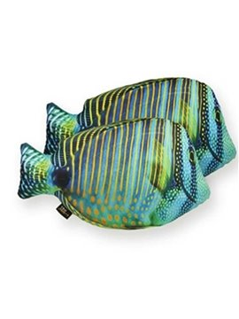 Super Cute Tropical Fish Design Decorative Throw Pillow