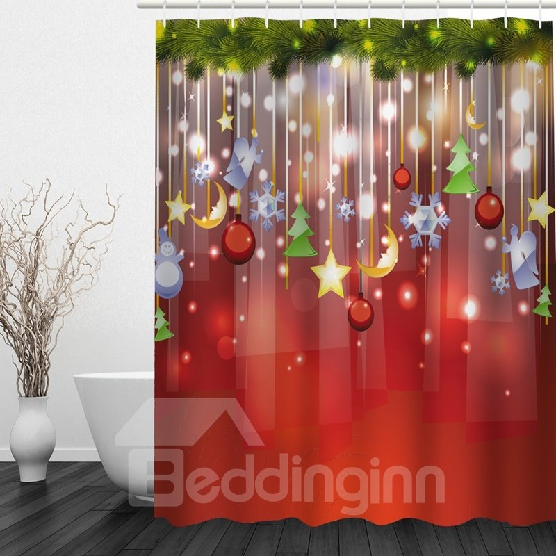Clip art christmas decoration in the tree printing for 3d christmas decoration