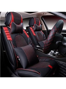 Luxury High-Grade Durable PU Leather Material Five Universal Car Seat Cover