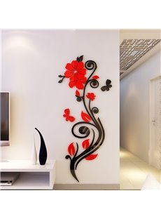 Newest popular best selling items on 3d wall stickers 3d for Decoration murale romantique