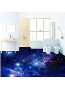 Magnificent Creative Galaxy Pattern Waterproof Splicing 3D Floor Murals