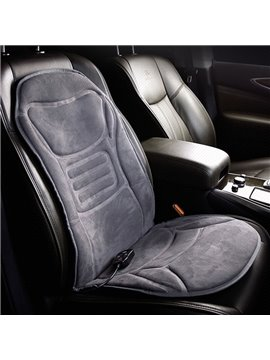 Super Comfortable Winter Durable PET Material Car Heating Car Single Seat Mat