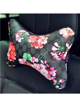 New Floral Printing Process One Piece Of Headrest Pillow