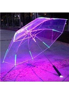 Amazing Multicolor Option Luminous Ultraviolet-proof Umbrella