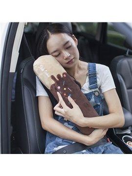 New Chocolate Style Soft Velvet Creative Car Belt Cover
