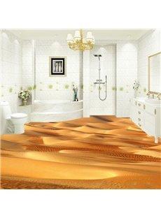 Creative Design Desert Pattern Nonslip and Waterproof 3D Floor Murals