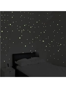 Creative Design Noctilucence Stars Pattern Home Decorative Wall Stickers