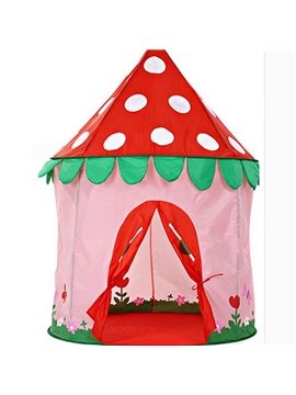 Adorable Cartoon Mushroom Pattern Kids Indoor Tent