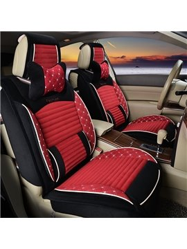 Beautiful Color With Fashion Spot Design Universal Five Car Seat Cover