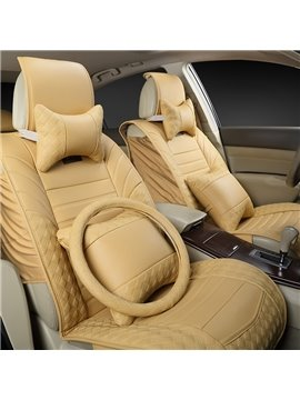 Good Textured Durable PU Leather Material Affordable Prices Universal Car Seat Cover