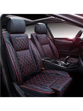 Luxurious Business And Sport Style Combine Three-Dimensional Universal Five Car Seat Cover