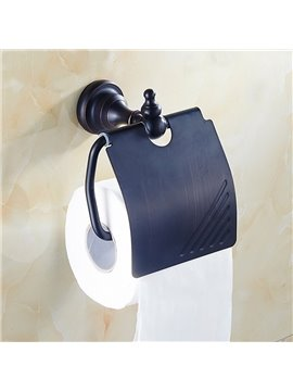 European Style Black Bronze Toilet Paper Roll Holder