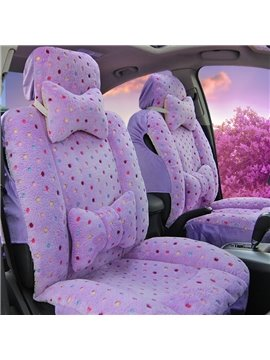 Lovely Princess Wind Beautiful Style Design Soft Universal Car Seat Cover