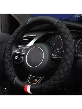 Super Popular And High-Grade Mesh Up Material Medium Car Steering Wheel Cover