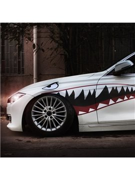 Super Cool Popular Creative Shark Design 1-Pair Car Sticker